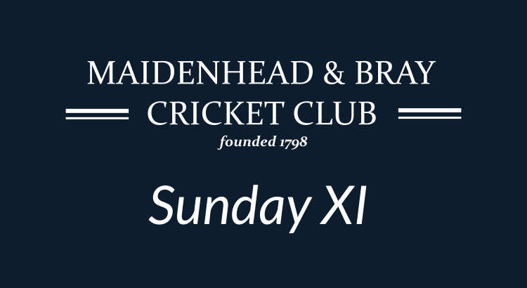 Sunday XI v Taplow 13th August 2017