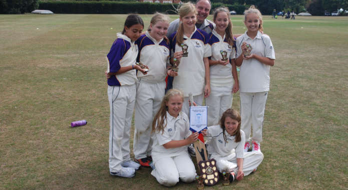 The Girls Win The U12 Berkshire County Championship