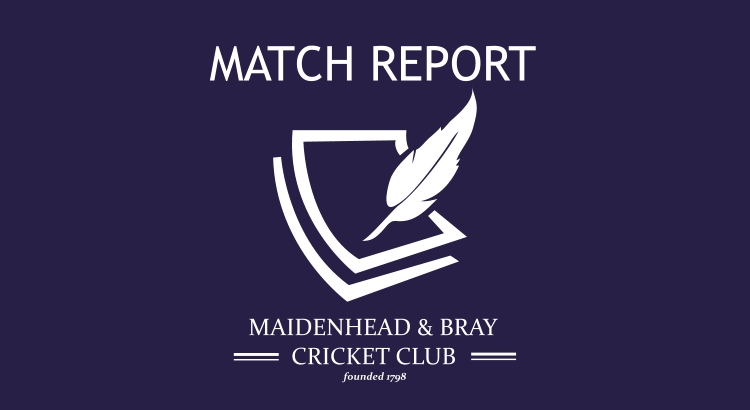 MBCC First XI v North Maidenhead 6th June 2015